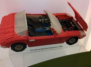 Modello realizzato da Kjeld nel 1964 esposto alla LEGO Idea House.