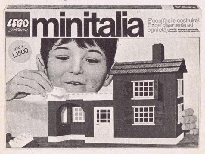 Pubblicità Minitalia da Topolino n. 754 del 10 maggio 1970.