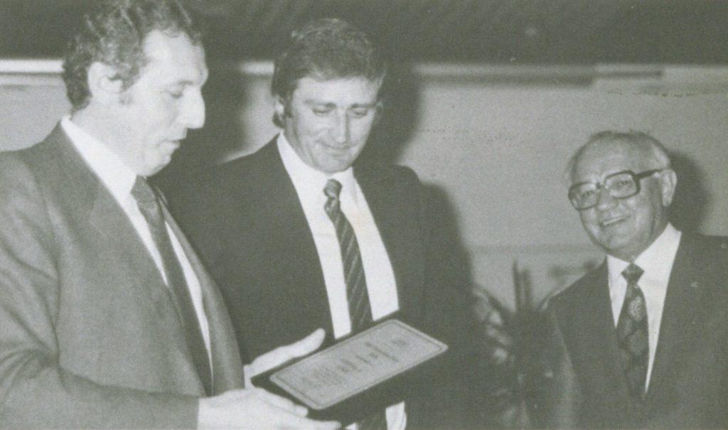 Giancarlo Morganti e Godtfred Kirk Christiansen