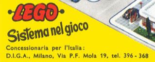 LEGO sbarca in Italia