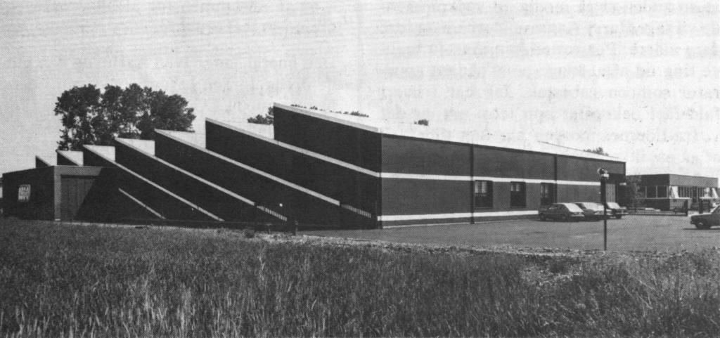 Sede LEGO di Lainate nel 1975